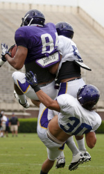 Surging Defense, Big Plays Highlight First ECU Football Scrimmage