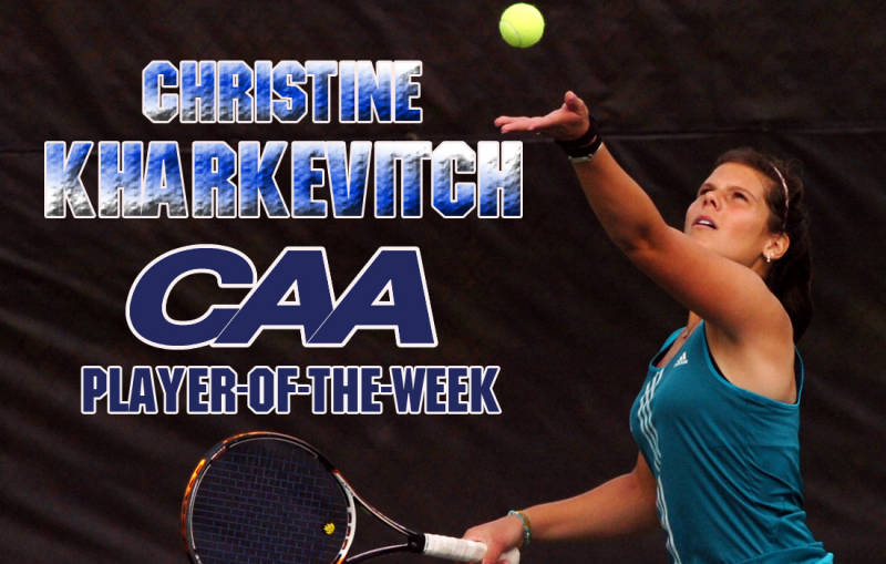 CAA Singles Out UNCW's Christine Kharkevich