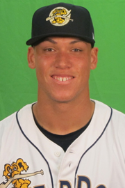Aaron Judge Moved Up to Tampa
