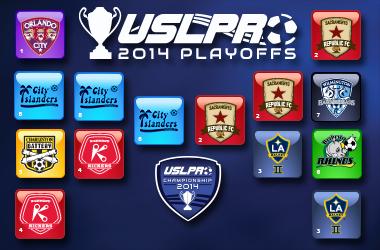 2014 USL PRO Championship Game Set