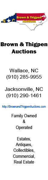 Brown & Thigpen Auctions 160x600