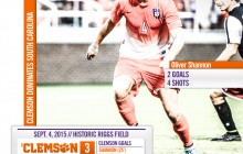Clemson Soccer Dominates South Carolina