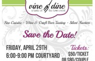 Annual Vine & Dine Event to Showcase Area Gourmet